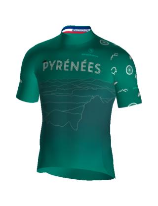 Maillot de vélo Pyrénées