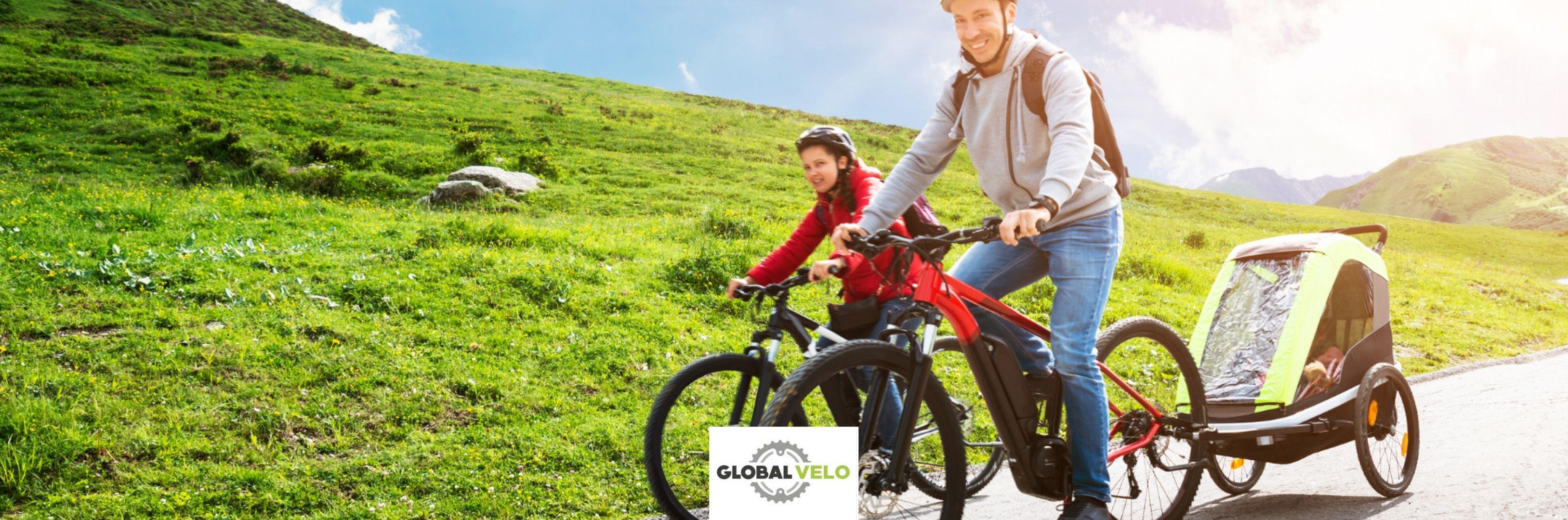 Balade en vélo et remorque